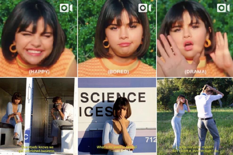 Селена Гомес выпустила клип о слабости кДжастину Биберу